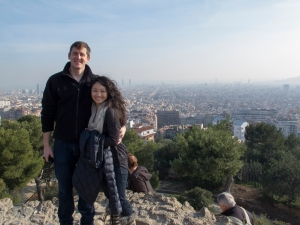Where we spent our 4 year anniversary. Barcelona, Spain