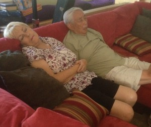 Check out these crazy kids- grandpa and step-grandma