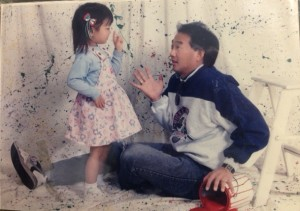 Bossing him around since 1993 (probably earlier than that)