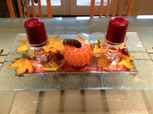 fall foliage decorations