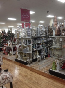 And I got super excited when I walked inside because clearly the holidays are around the corner!