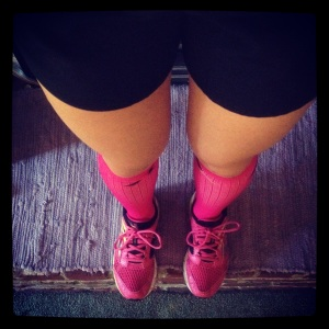 running clothes procompression socks