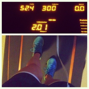 treadmill run