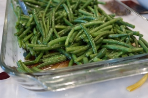 green beans thanksgiving