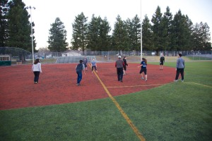 touch football Christmas