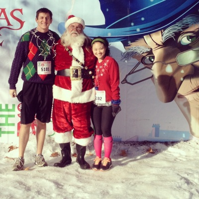 5K ugly sweater dash