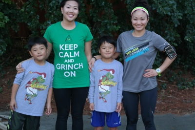 annie cousins running christmas