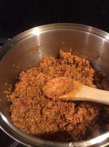 mexican quinoa salsa