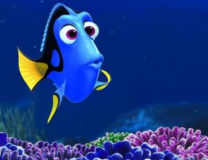 Eat fish, but not Dory.