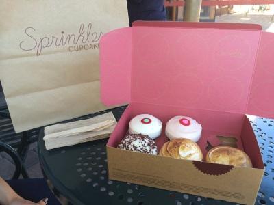 anniversary irvine visit sprinkles cupcakes