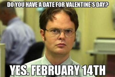 the office valentine's day