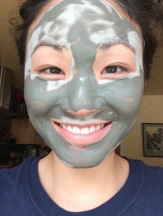 Do I have something on my face?