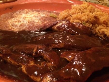 el nido mexican chicken mole