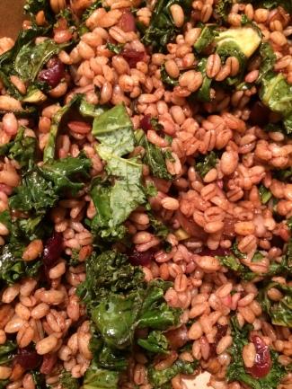 kale barley salad
