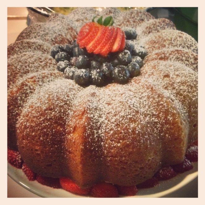 bundt cake dessert