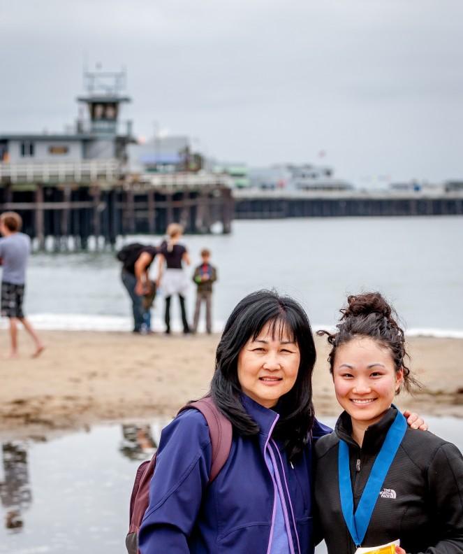 Santa Cruz Half Marathon 4.13.14-15
