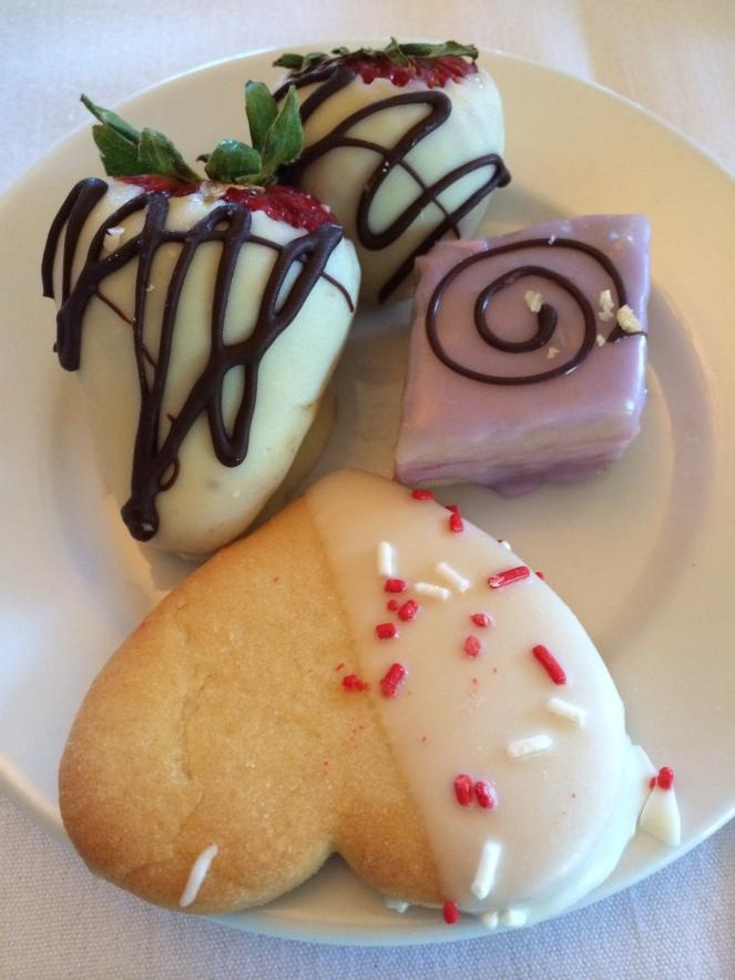 dessert mother's day brunch