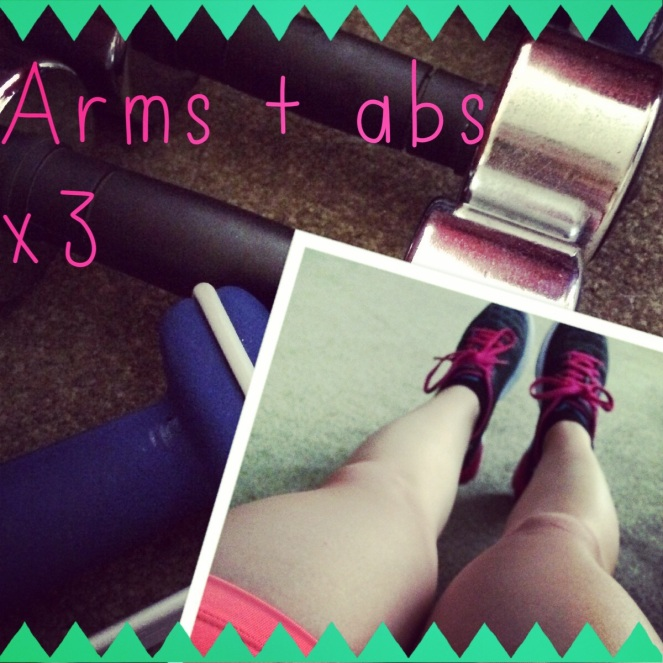workout arms abs