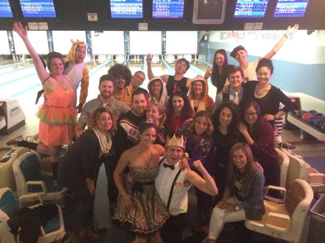 travis birthday bowling