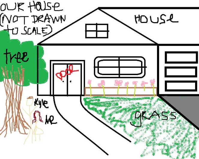 house drawing