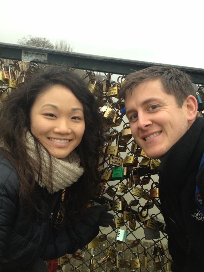 paris europe lock bridge