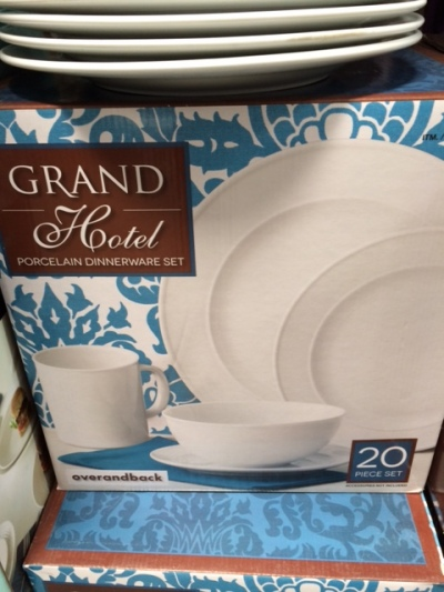 dinnerware costco