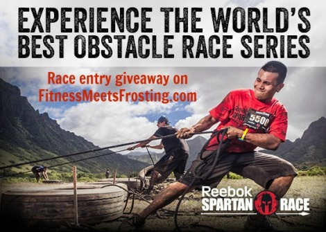 Spartan Race Giveaway Fitnessmeetsfrosting