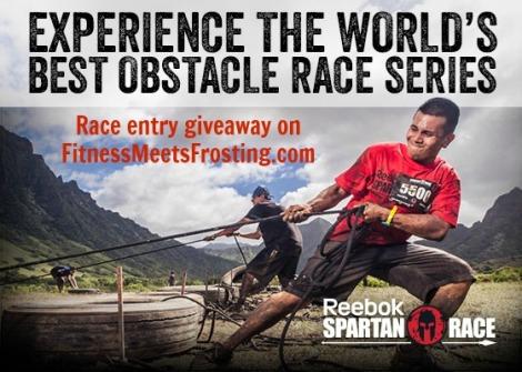 Spartan Race Giveaway Fitnessmeetsfrosting