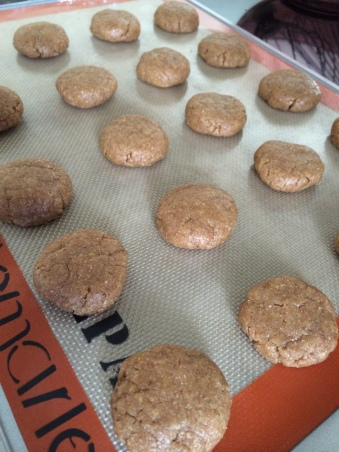 chewy whole wheat lemon cookies