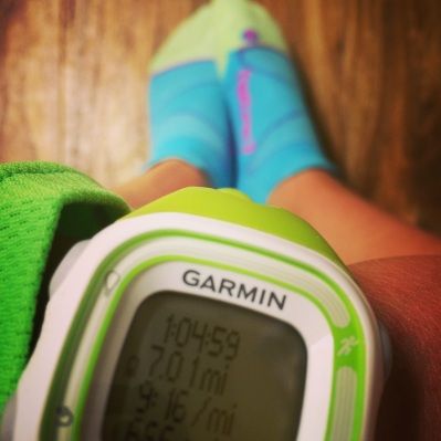 run garmin feetures